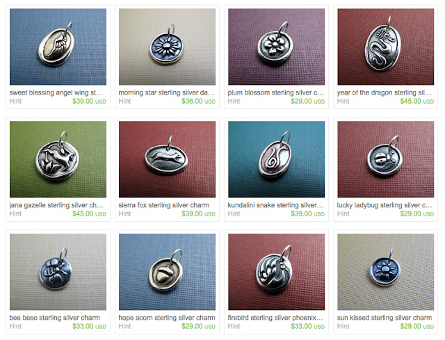 sterling silver charms hint jewelry