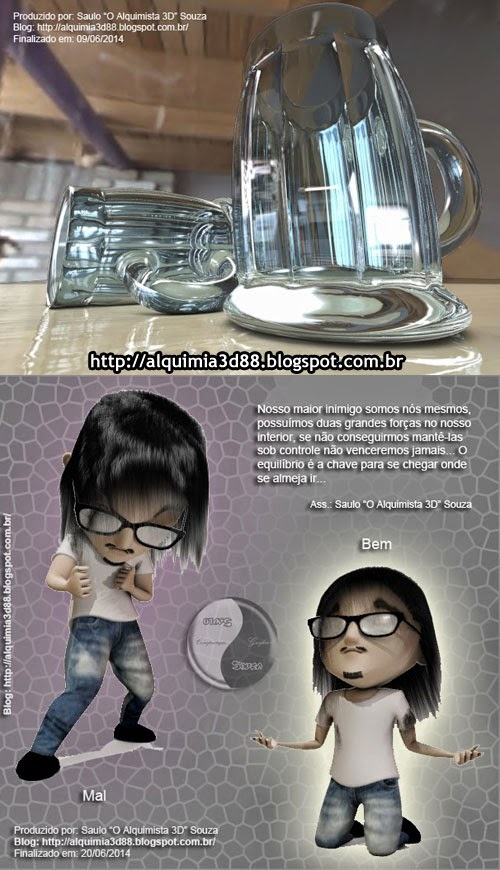 Trabalhos 3D Saulo Alquimista 3D