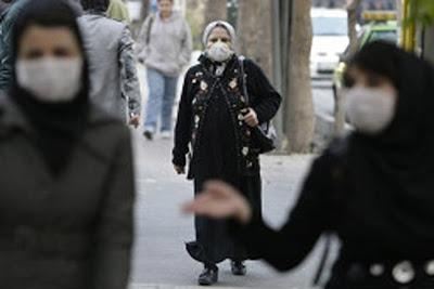 MILES DE MUERTOS EN IRAN POR NUBE TOXICA, Enero 2013