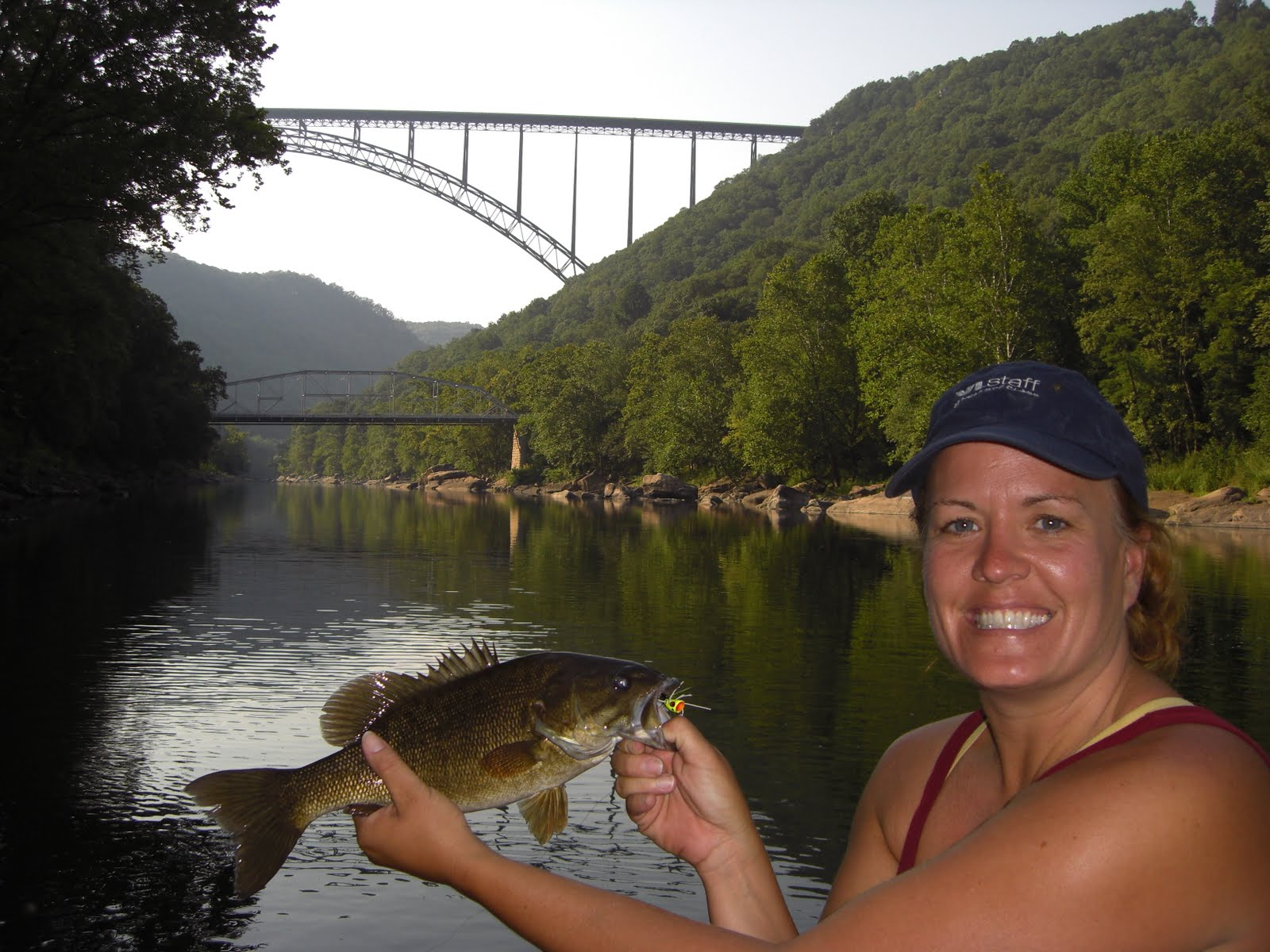 west virginia fishing new river gorge bridge