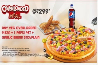 Get Unlimited Pizzas and Pepsi at Pizza Hut just at Rs 239 :buytoearn