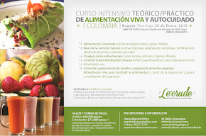 Curso Intensivo de Raw Food en Bogotá