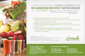 Curso Intensivo de Raw Food en Bogotá