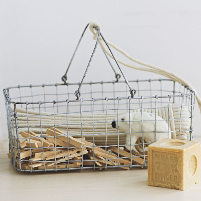 West Elm, market, tienda, shop, decoration, U.S, Wire, Mesh, Storage, Laundry Caddy