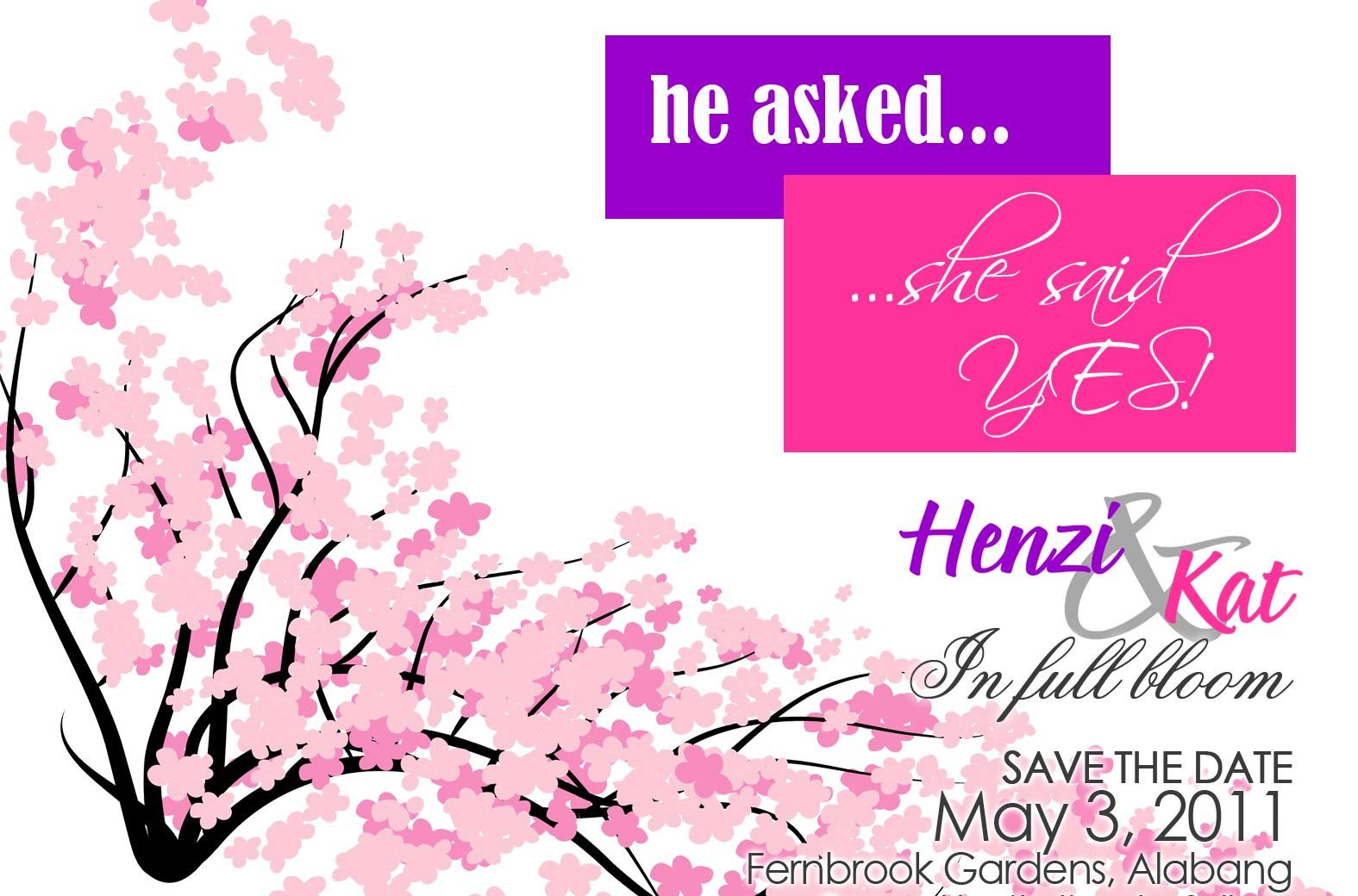 The Wedding of Henzie and Kat | Scribbles of an Event Planner