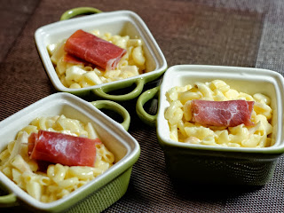 Risotto de coquillettes, pommes et camembert