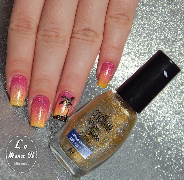 nail art para o verão