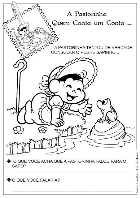 Atividade A Pastorinha - Anfíbios Pág 5 e 6