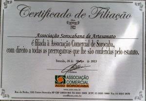 CERTIFICADO DE FILIAÇÃO  ACSO