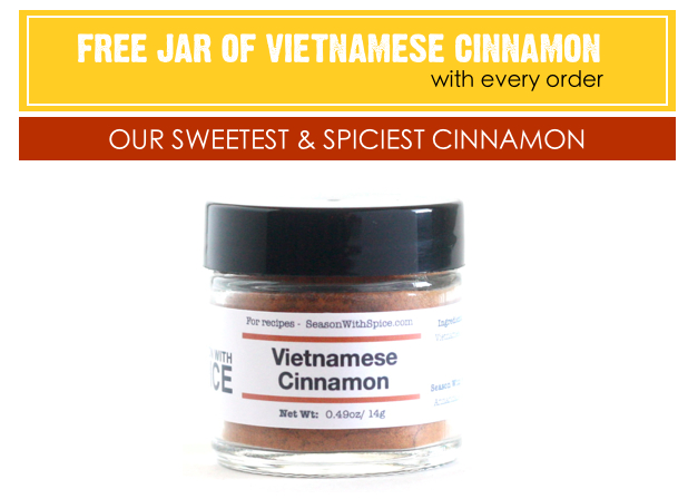 Vietnamese Cinnamon offered by SeasonWithSpice.com