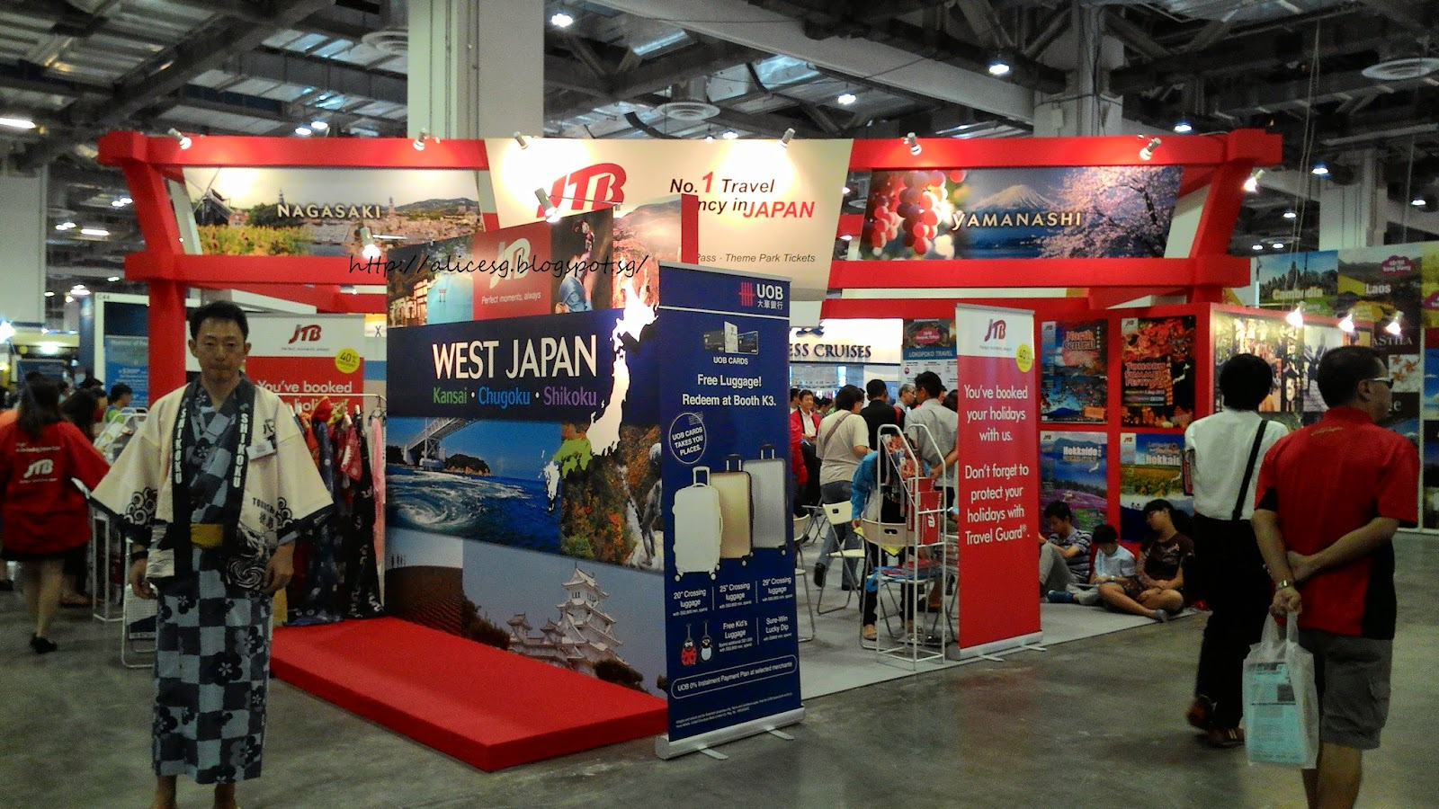 Exhibition Booth Japan : Alicesg singaporemyhome revolution travel fair at