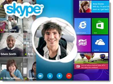 SKype 6.0 for Windows 8