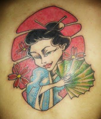 Desenhos de Tatuagens Japonesas Femininas