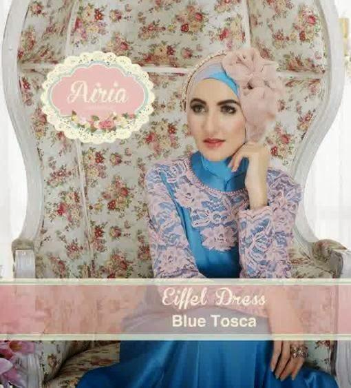 Baju Pesta Wanita Muslim Terbaru