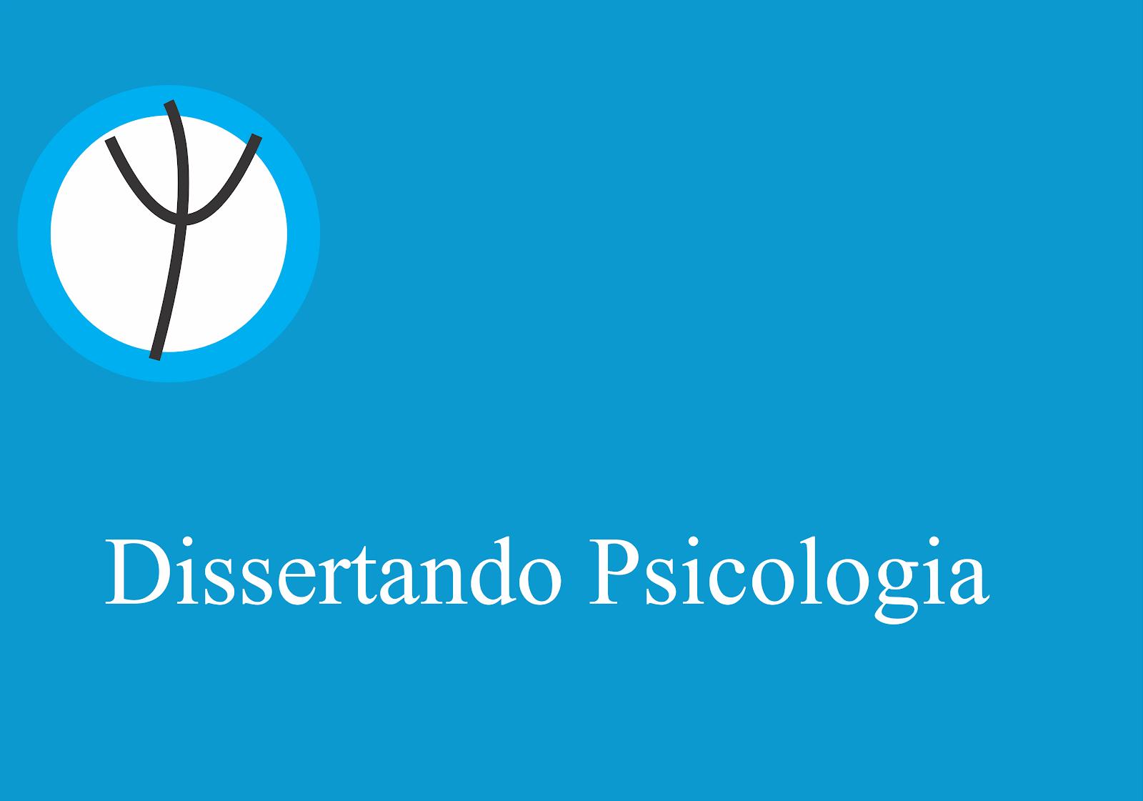 Dissertando Psicologia