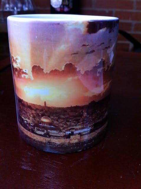 Mugs cerámica Jerusalém