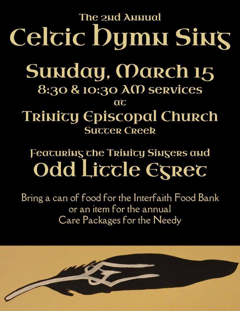 Celtic Hymn Sing - Sun Mar 15