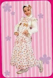 baju muslim anak perempuan untuk pesta