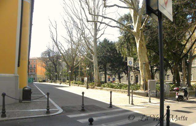Trieste Piazza Hortis