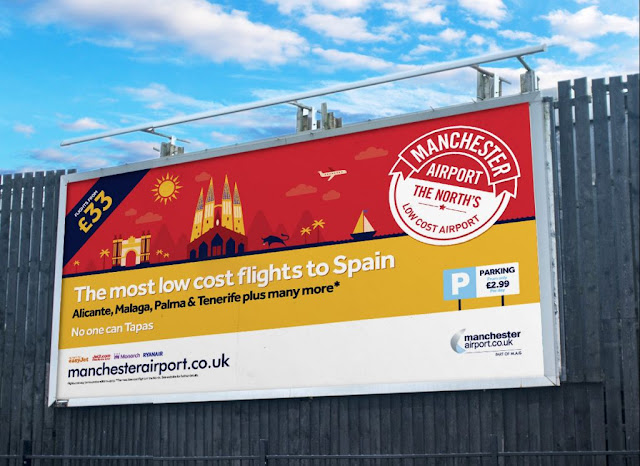 Manchester Airport - 48-Sheet Billboard