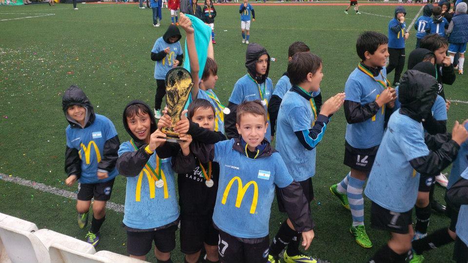 Campeões sub10 Tor. McDonalds 2015