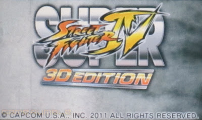 Street Fighter 4 3D Edition