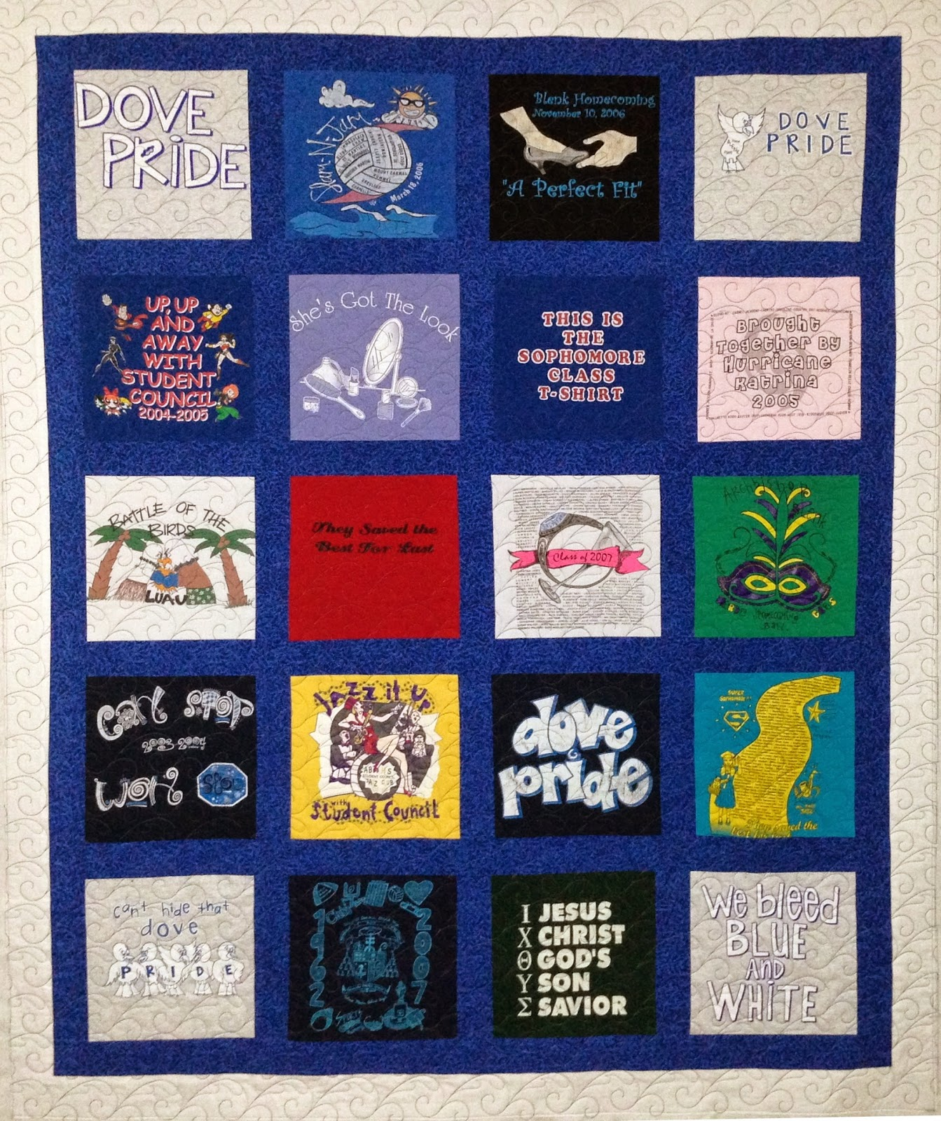 Paulette Lawson T-Shirt Quilt