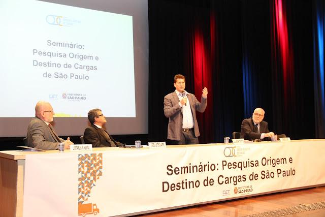 Secretaria de Transporte por meio da Companhia de Engenharia de Tráfego (CET) dá início à primeira Pesquisa Destido de Origem de Carga de São Paulo