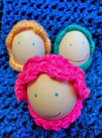 пасхальные корзиночки для яиц