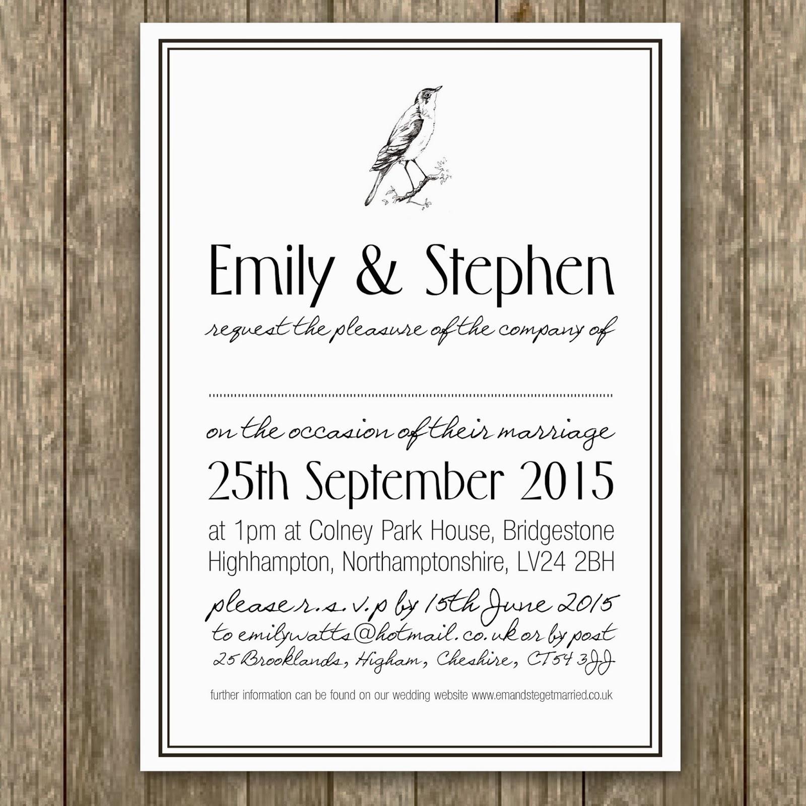 knots and kisses wedding stationery: new range of digital wedding, Wedding invitations