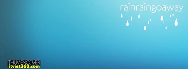 Ảnh bìa cho Facebook mưa | Cover FB timeline rain,