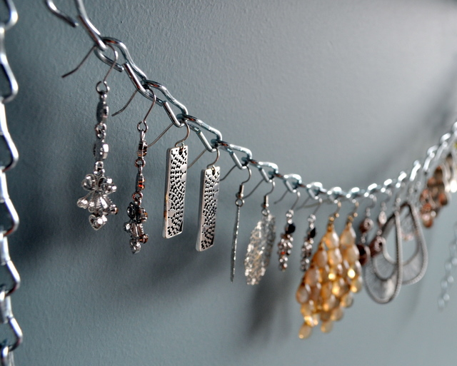 9 clever ways to store display your jewelry megan fenno - Clever diy ways keep jewelry organized ...