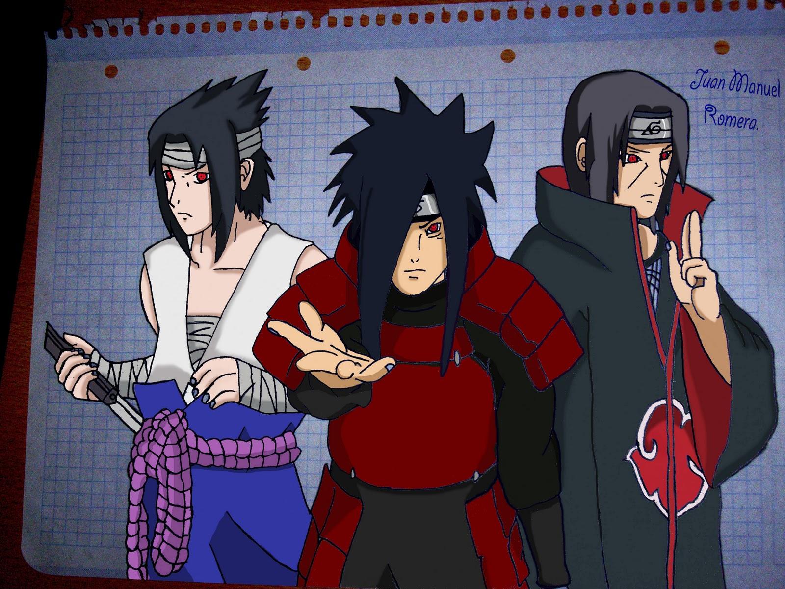 My little perfect world SasukeMadara e Itachi Naruto