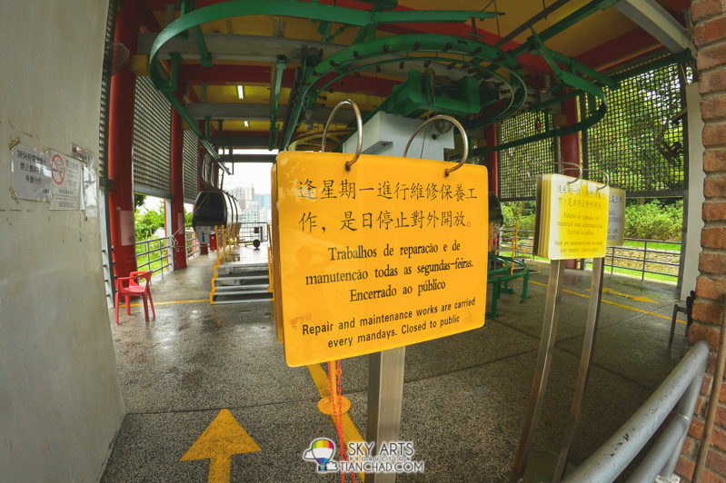 Guia Cable Car close on Monday for maintenance