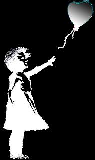 La niña de Bansky
