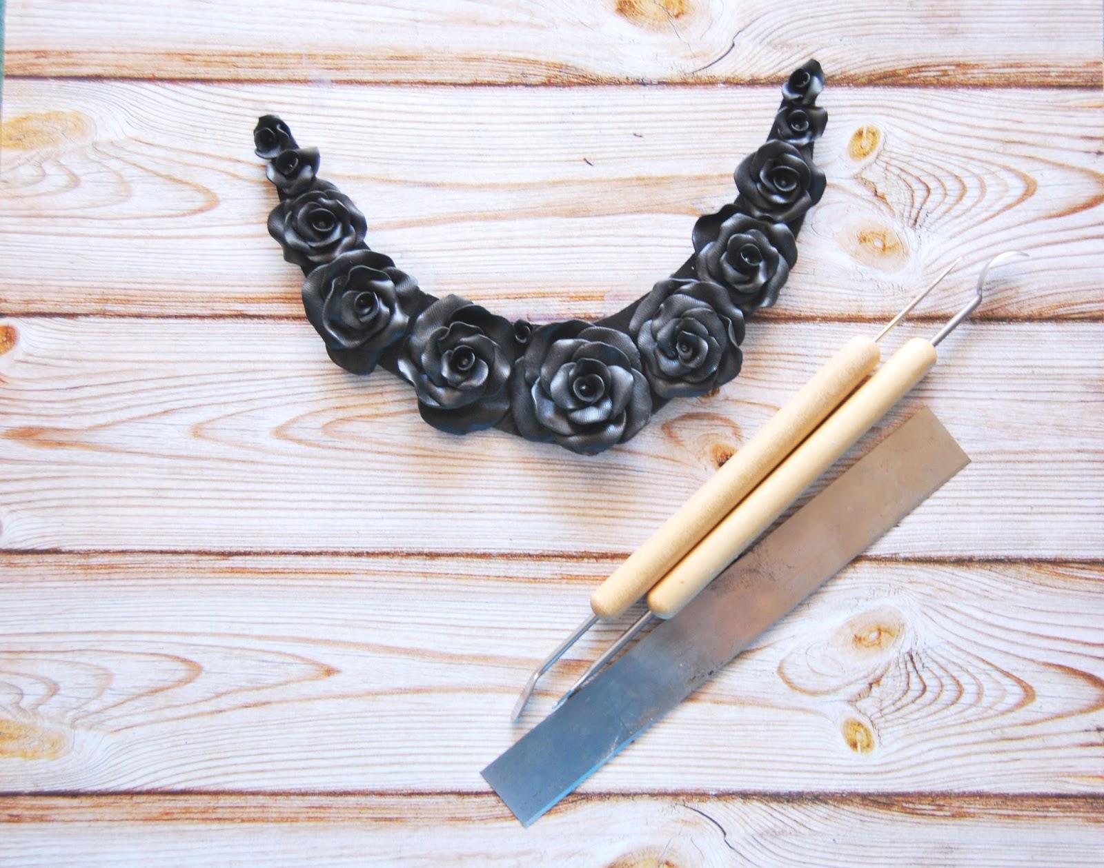 collar negro online fimonita