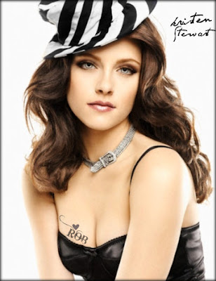 Kristen Stewart Tattoos Designs