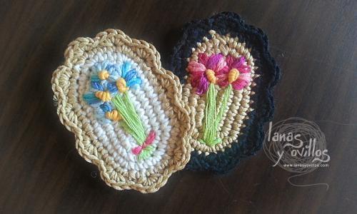 Broche Vintage de Crochet Tutorial - Patrones Crochet
