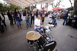 Realizan flashmob en el Parque Juárez