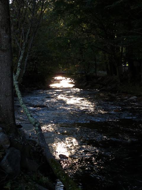 Babbling brook Maggie Valley North Carolina