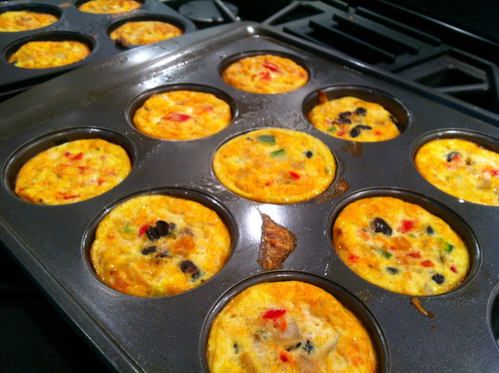 Breakfast Burrito + Quiche - Carbs: Tex-Mex Mini Crust-less Quiches ...