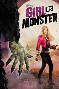 Girl Vs Monster 2012 poster