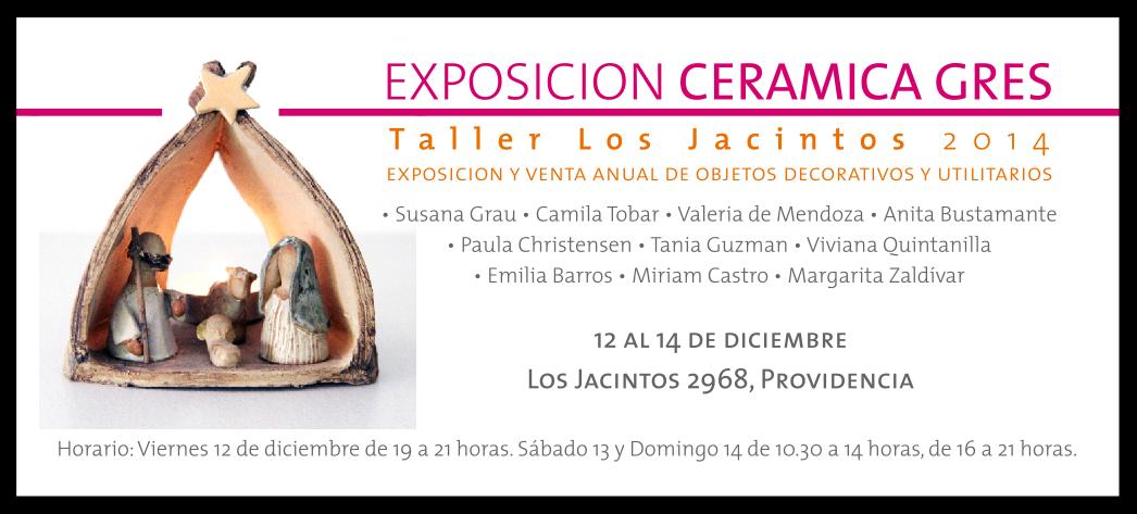 exposicion venta navidad ceramica gres providencia utilitarios pesebres joyas adornos