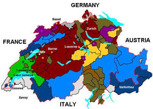 Image result for Switzerland map blogspot.com