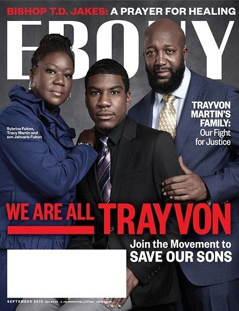 Trayvon Ebony Magazine covers