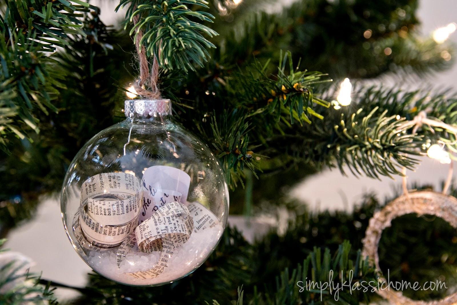 Christmas Ornaments Glass Balls Handmade : Ten handmade ornaments in under an hour