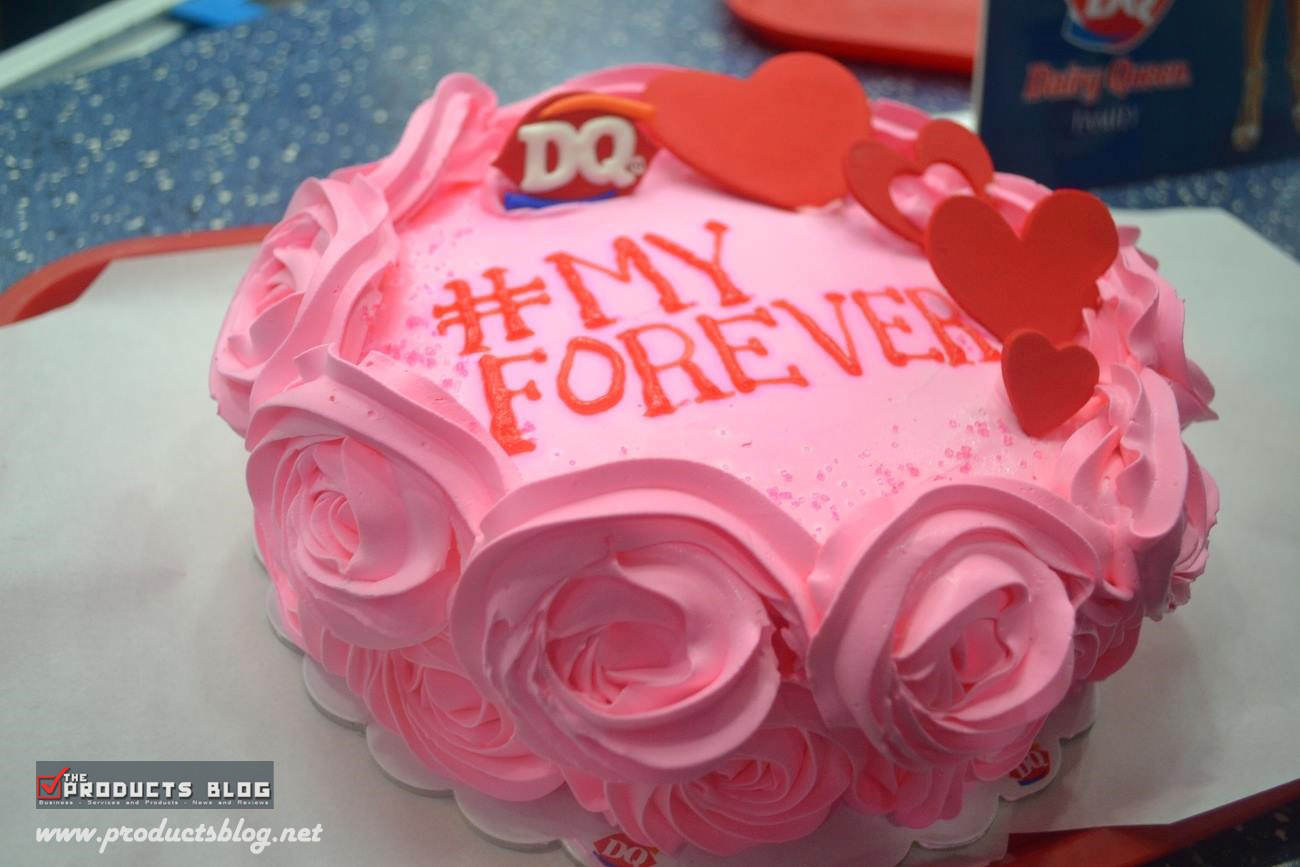 Valentine Cakes From Dairy Queen The Products Blog