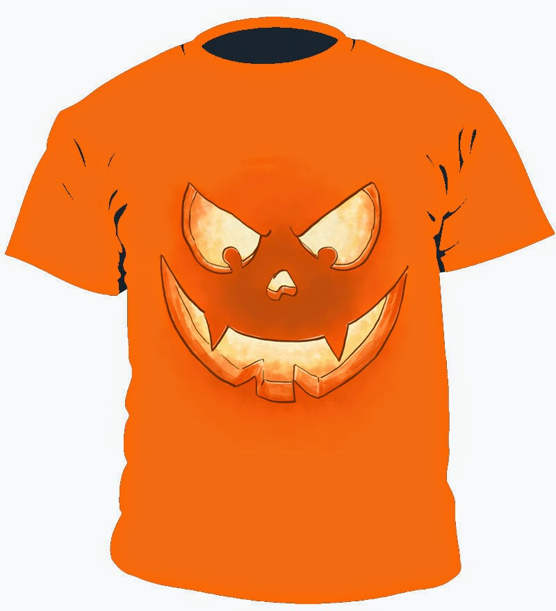 Camiseta para lucir un aspecto inmejorable en Halloween