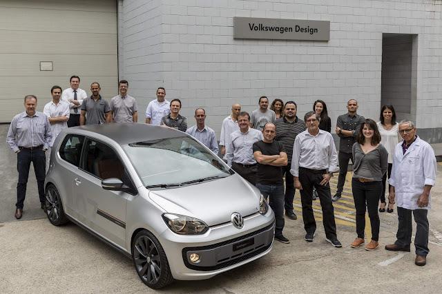 Volkswagen Up! TSI 2 Prata Fosco concept