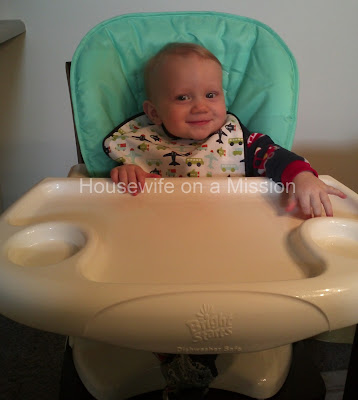 ~Let's Eat and Be Messy~ Bright Starts Sunnyside Safari Chair Top High Chair